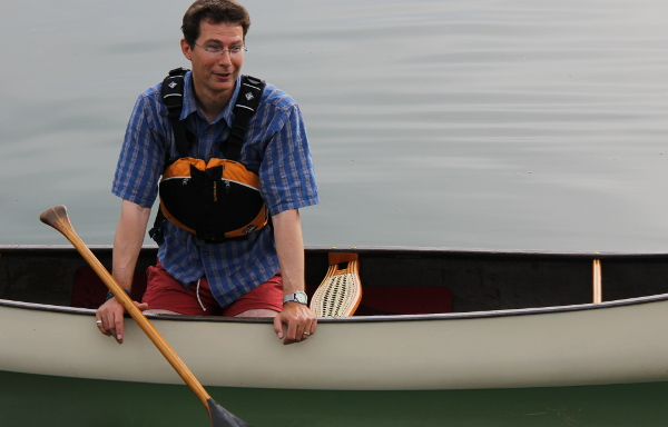 Felicity 13' solo canoe review by Mark Maier